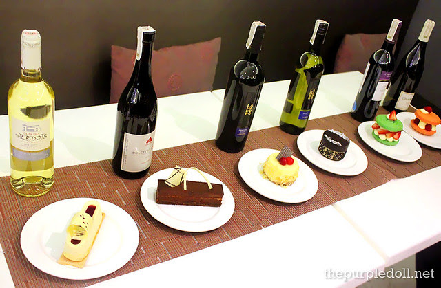 Dessert and Wine Pairing at The Cake Club