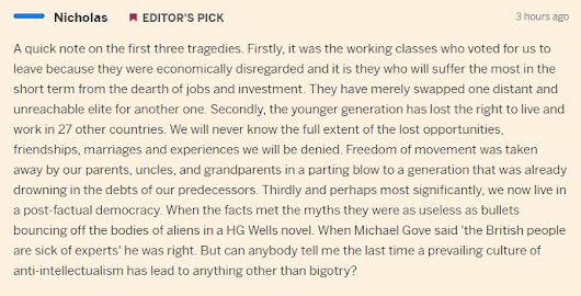 "Financial Times auf Twitter: ""Thoughts on Brexit from FT commenter Nicholas are spreading across Twitter.  """