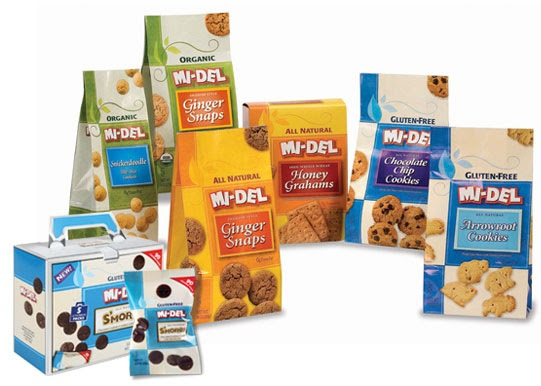 MI-DEL Organic Cookies Review and Giveaway (3 Winners)