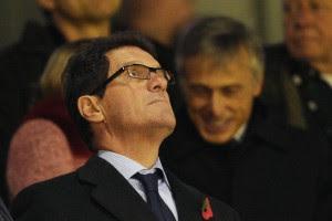 Капелло назвал спаринг-партнеров для своей сборной