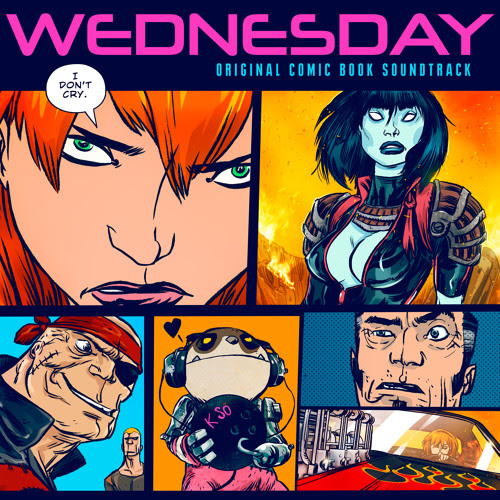 Wednesday Comic Book Soundtracks by Lakeshore Records
