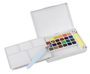 Sakura Koi Watercolors Pocket Field Sketch Box Sets