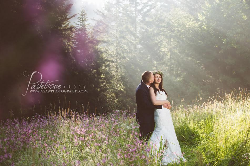 plener ślubny w Pieninach