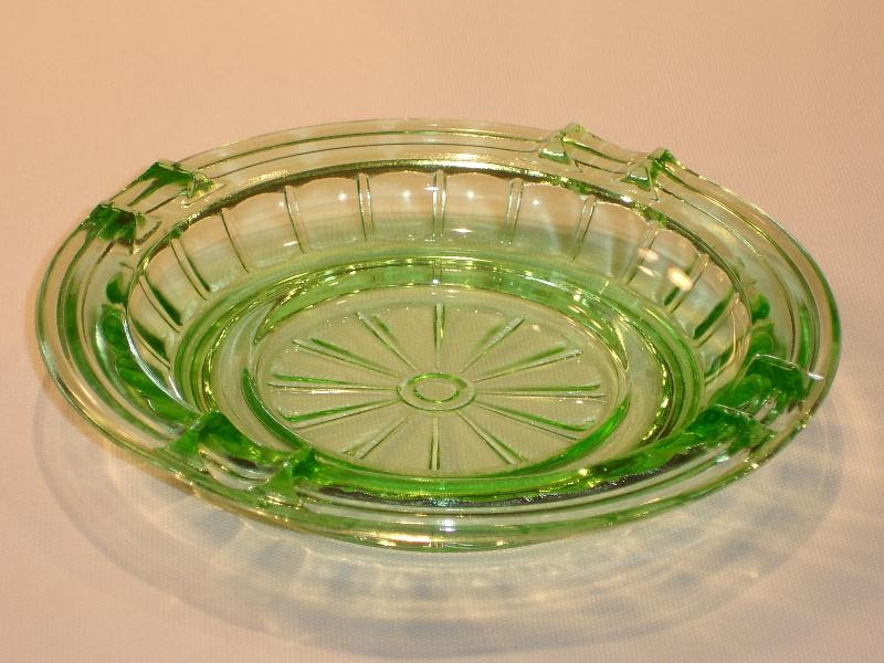 Green Depression Glass -- Pattern Identification and Photos