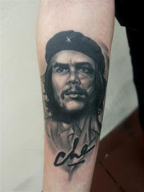 Che Guevara Tattoo Design ? WeNeedFun