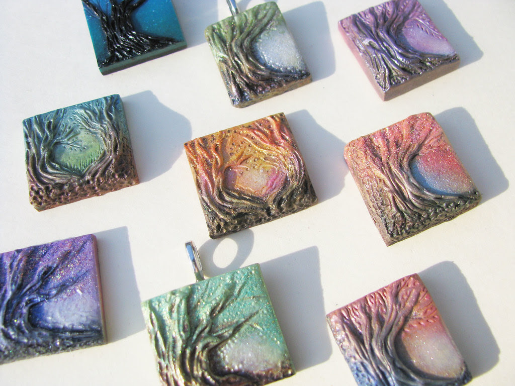 New Tree Pendants!!