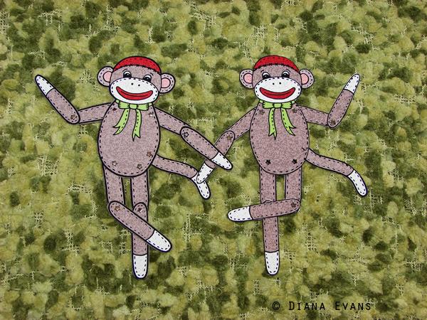 sock monkey 6