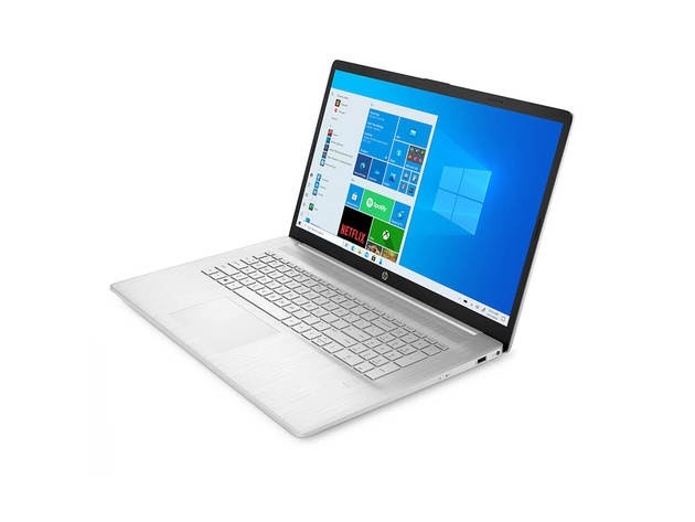 HP 17CN0007DS 17.3 inch 17 Laptop PC - Intel Core i5 - 8GB/256GB - Silver for $599