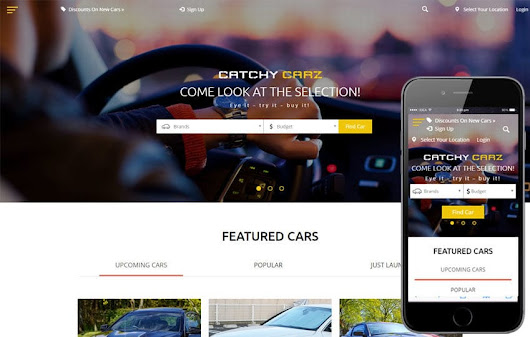 Catchy Carz classified ads Category Flat Bootstrap Responsive Web Template