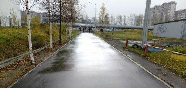 perierga.gr - Απίστευτο! Διόρθωσαν τις λακκούβες στους δρόμους με Photoshop!