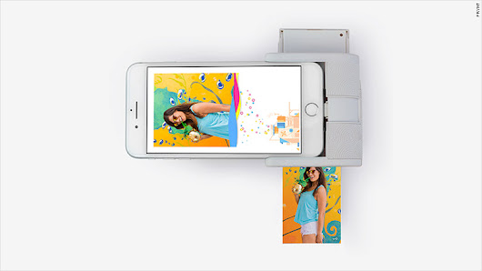 This gadget prints photos from your iPhone with an augmented reality twist