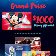 Disney® Gift Card Giveaway