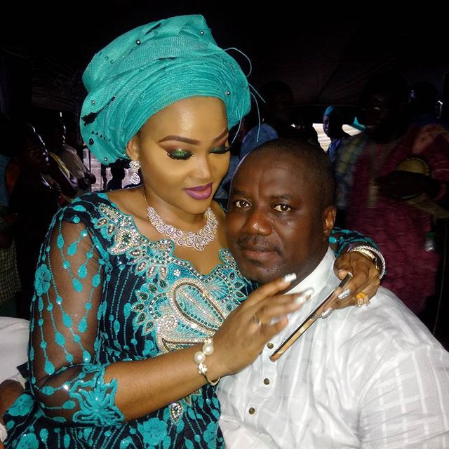 Image result for Mercy Aigbe and Lanre Gentry