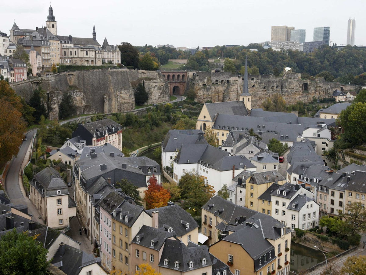 17.) LUXEMBOURG punches well above its weight in finance — the tiny city-state is Europe's fourth highest-ranked hub.