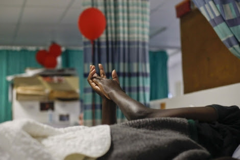 Un paciente con sida en Durban (Sudáfrica).  Efe
