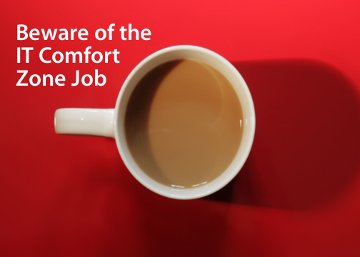 Beware of the IT Comfort Zone Job: Jay's Blog