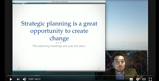 Best practices on how to create a strategic plan- Video