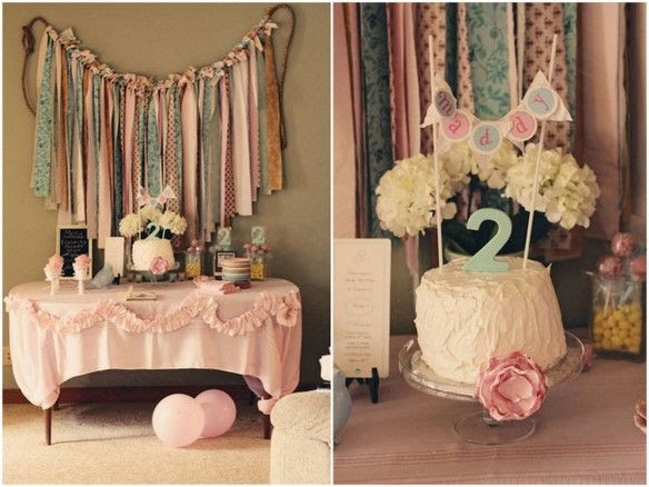 Shabby Chic Party Theme Inspiration Post And Ideas At Home With