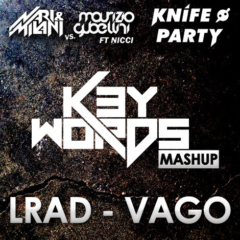 Nari & Milani Vs Maurizio Gubellini Ft. Nicci Vs. Knife Party - LRAD is VAGO (k3ywords bootleg 2013)