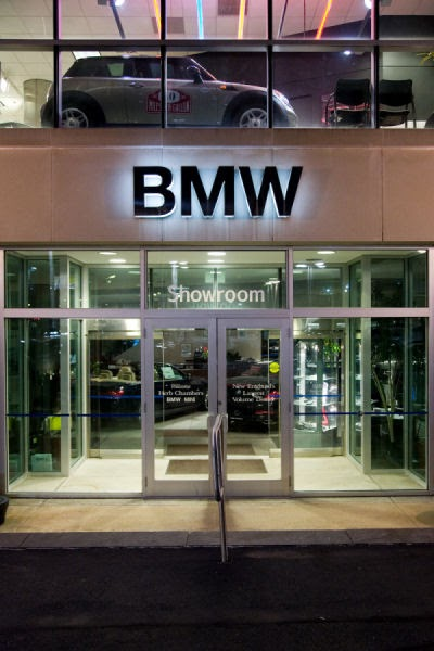 Herb Chambers BMW >> The Signage Of Negative Space: Herb Chambers - BMW / Mini