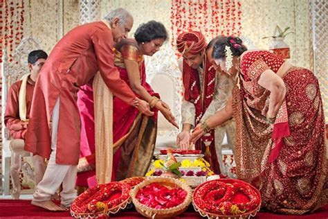 Colourful Indian Wedding Ceremony Décor