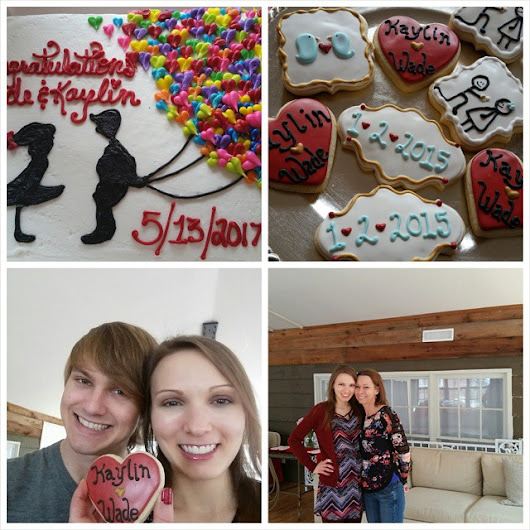 Lots of Love, Friends, Chocolate, and an Engagement Party Weekend Recap