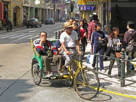 Public Transportation in Macao China