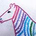 Zebra Sailor Stitch detail for TAST2013