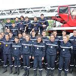 Vingt-cinq jeunes sapeurs pompiers en formation à Sézanne