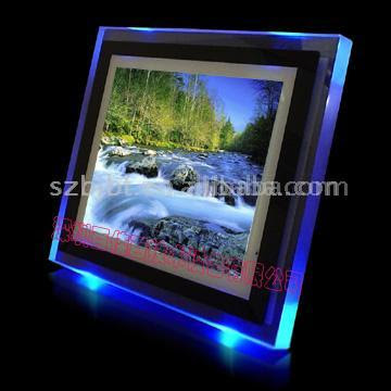 104 Digital Photo Frame With Led Light
