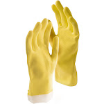 Libman 1322 Large Yellow All-Purpose Latex Gloves 2 Pairs