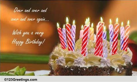 Celebrate You And Your Life. Free Happy Birthday eCards