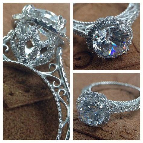 VENETIAN 5061R engagement ring from the Venetian