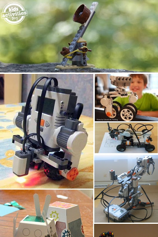 16 Robots Kids can Actually Make