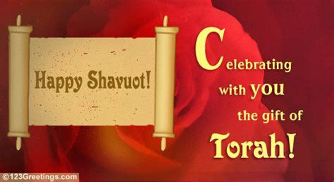 Gift Of Torah! Free Shavuot eCards, Greeting Cards   123
