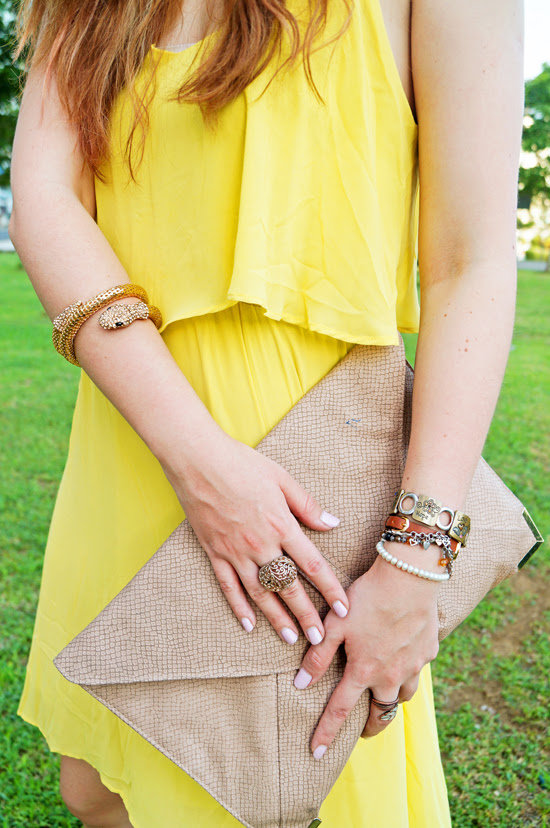 Yellow dress for Summer