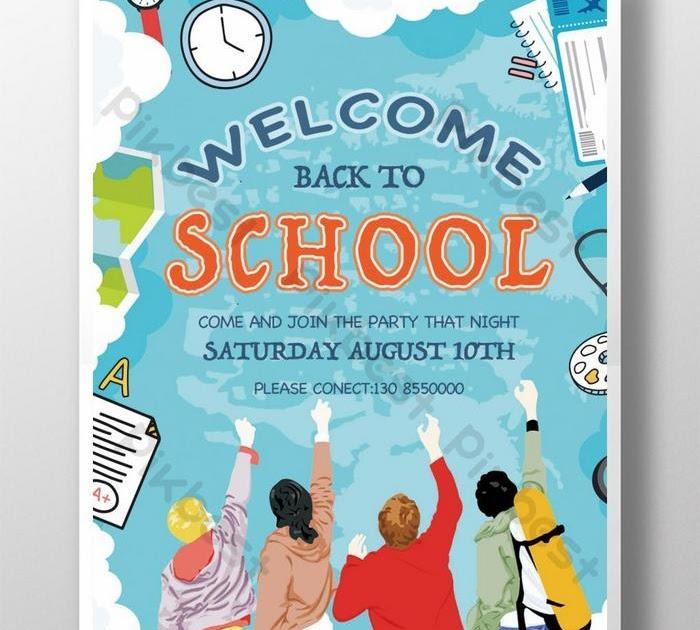 Contoh Gambar Poster Pendidikan Yang Mudah Digambar Dan ...