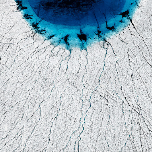 Science on canvas: Photographs capture thawing Greenland