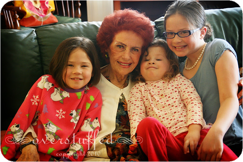 Grammy and our girls