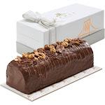 Chocolate Nutty Halva Log In Gift Box