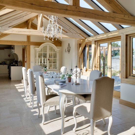 Dining room | Rustic new-build house | Country Homes & Interiors house tour | PHOTO GALLERY | housetohome
