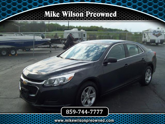 Used 2014 Chevrolet Malibu LS Fleet for Sale in Winchester KY 40391 Mike Wilson Preowned