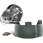 Oakley 20 Percent Grey Football Visor