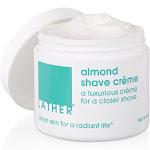 Lather Almond Shave Crème - 4 oz