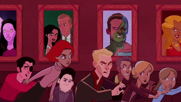 Watch This Amazing 'Buffy the Vampire Slayer' Animated Intro