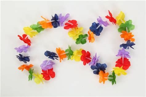 Hawaiian Flower Leis   Partyshop.co.nz