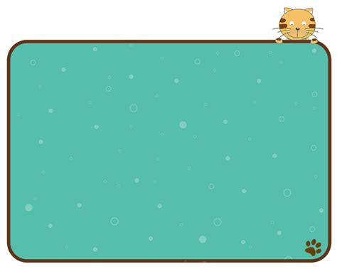 coretan rissa cute cat tema powerpoint