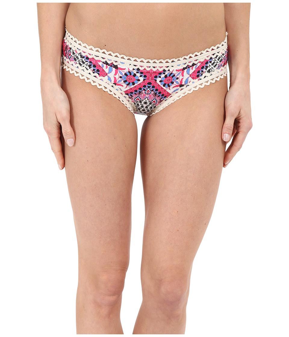 BECCA by Rebecca Virtue - Secret Garden Hipster Bottom (Multi) Women's Swimwear