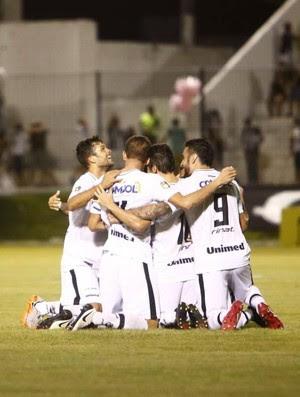 ABC x Guarani Estádio Frasqueirão Série C - gol Lúcio Flávio (Foto: Alexandre Lago/GloboEsporte.com)