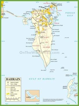 Bahrain Maps | Maps
